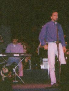 Con Enrique Urquijo
