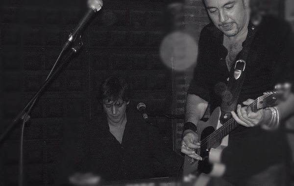 Avec (trabajando con) J. Bulevar Band