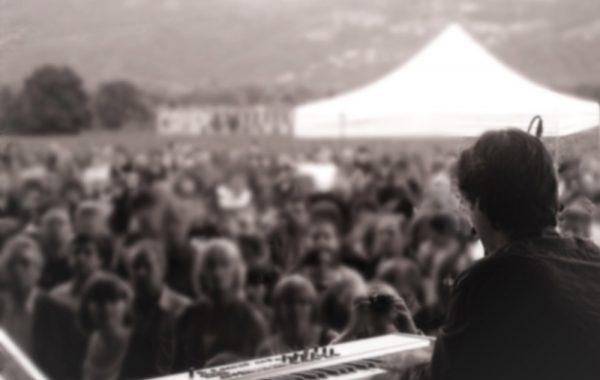 Josemi Redondo on stage